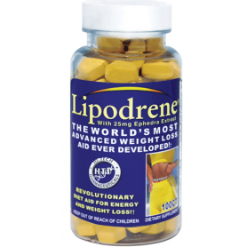 HI TECH LIPODRENE 100 Cap - YELLOW 100tab