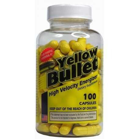 Yellow Bullet 100cps - Hard Rock Supplements 100cps